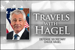 Travels with Hagel