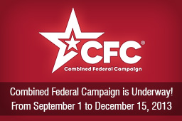 The Annual Combined Federal Campaign