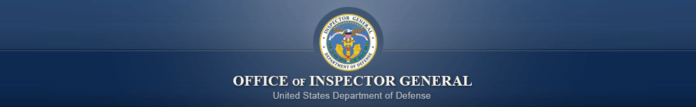 Office of Inspector General, United States Department of Defense