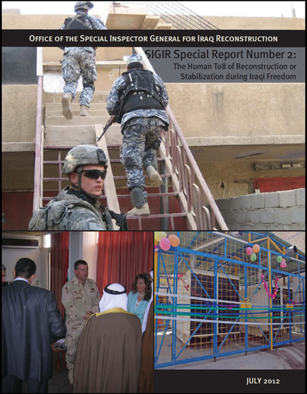 Iraq Reconstruction Special Report