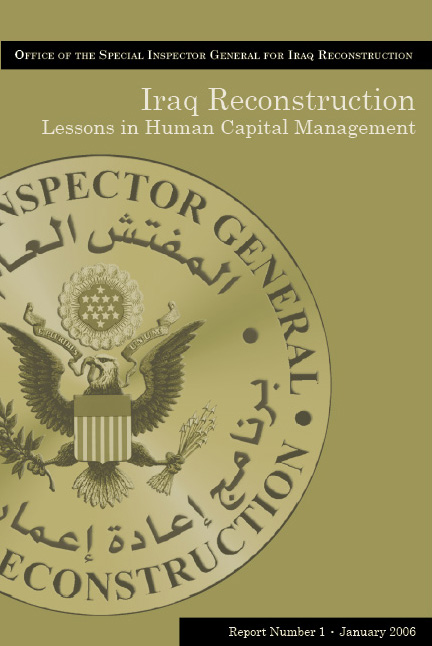 Lessons Learned In Human Capital Management - Click for High Resolution Cover