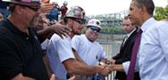 President Obama Meeting Americans